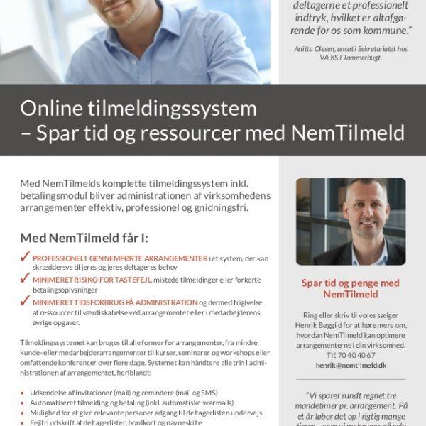 Book igennem Danske Konferencecentre og få gratis adgang til NemTilmeld