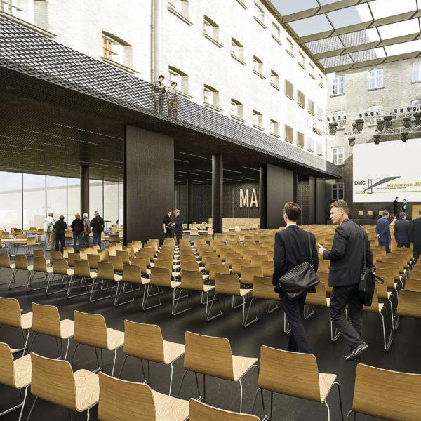 FÆNGSLET i Horsens får ny kultur- og konferencesal