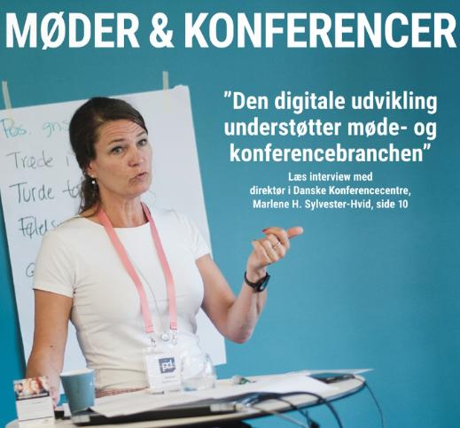 """""""Den digitale udvikling understøtter møde- og konferencebranchen""""- Marlene H. Sylvester-Hvid"""
