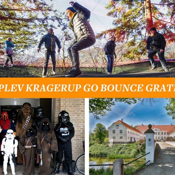 Kragerup Gods åbner Danmarks største trampolinpark Go Bounce