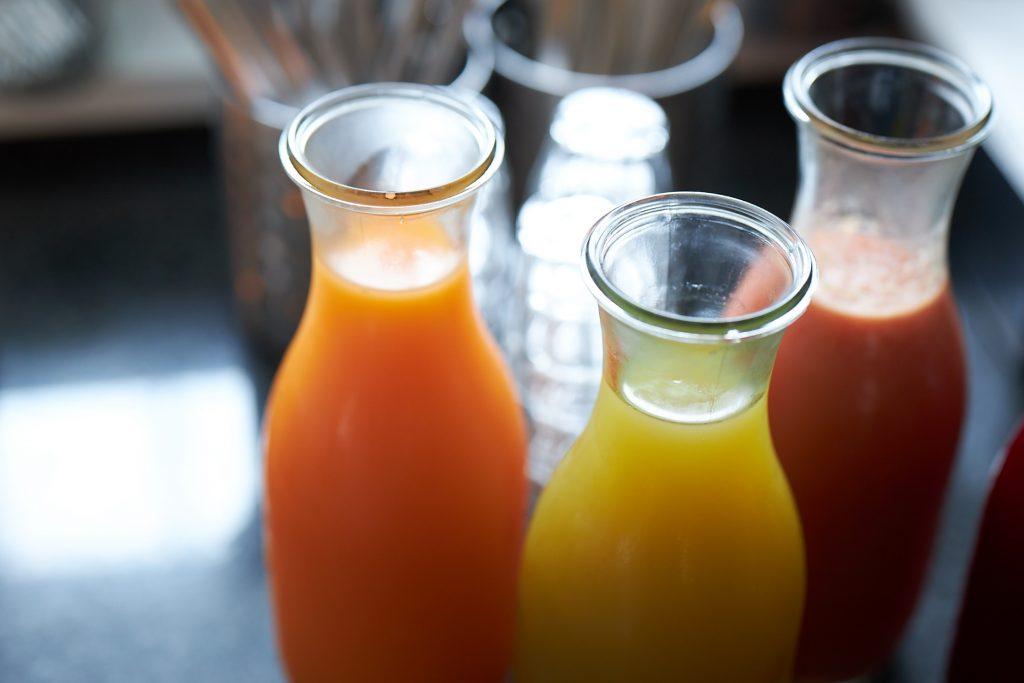 Juice af grøntsagsrester