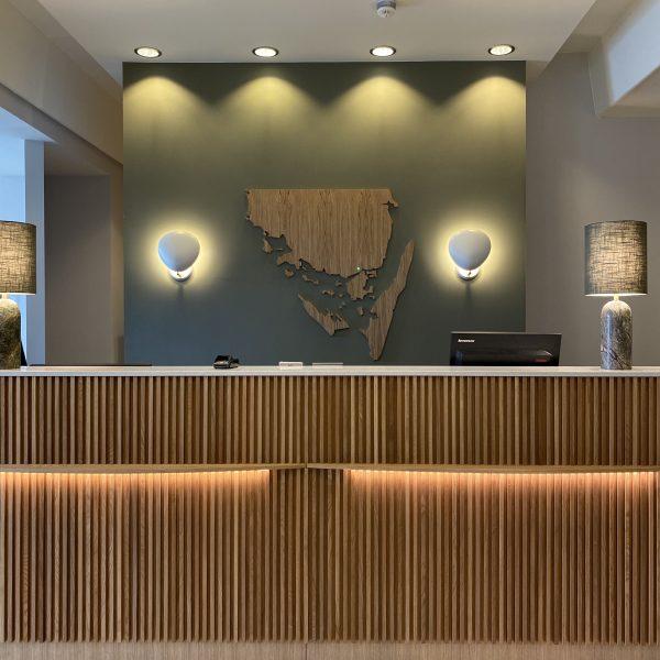 Ombygning færdig – Hotel Svendborg med nyt look