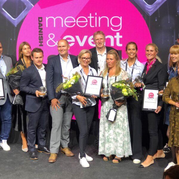 3 partnere vinder 4 priser til Danish Meeting & Event Award 2020