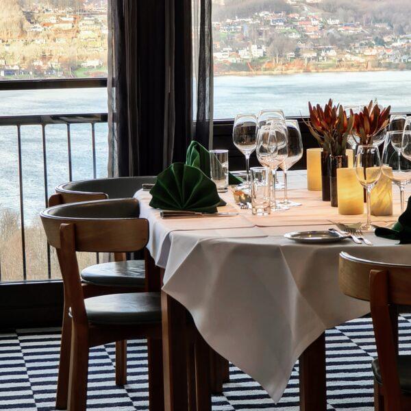 Gourmet-restaurant rykker ind på hotelværelset